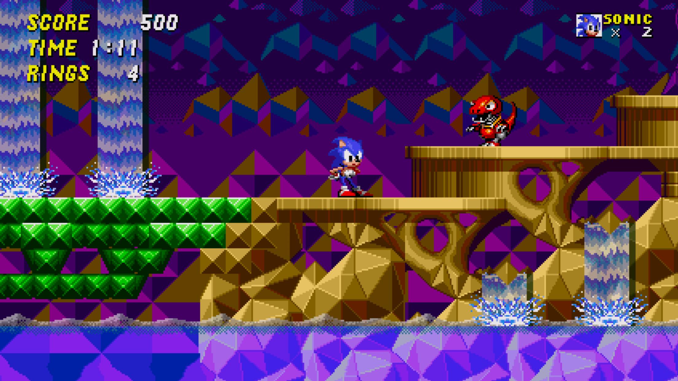 [7 Jogos Indispensáveis] - Android SEGA_Forever_-_Sonic_2_-_Screenshot_01_1511168890