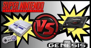 Mega Drive x Super Nintendo